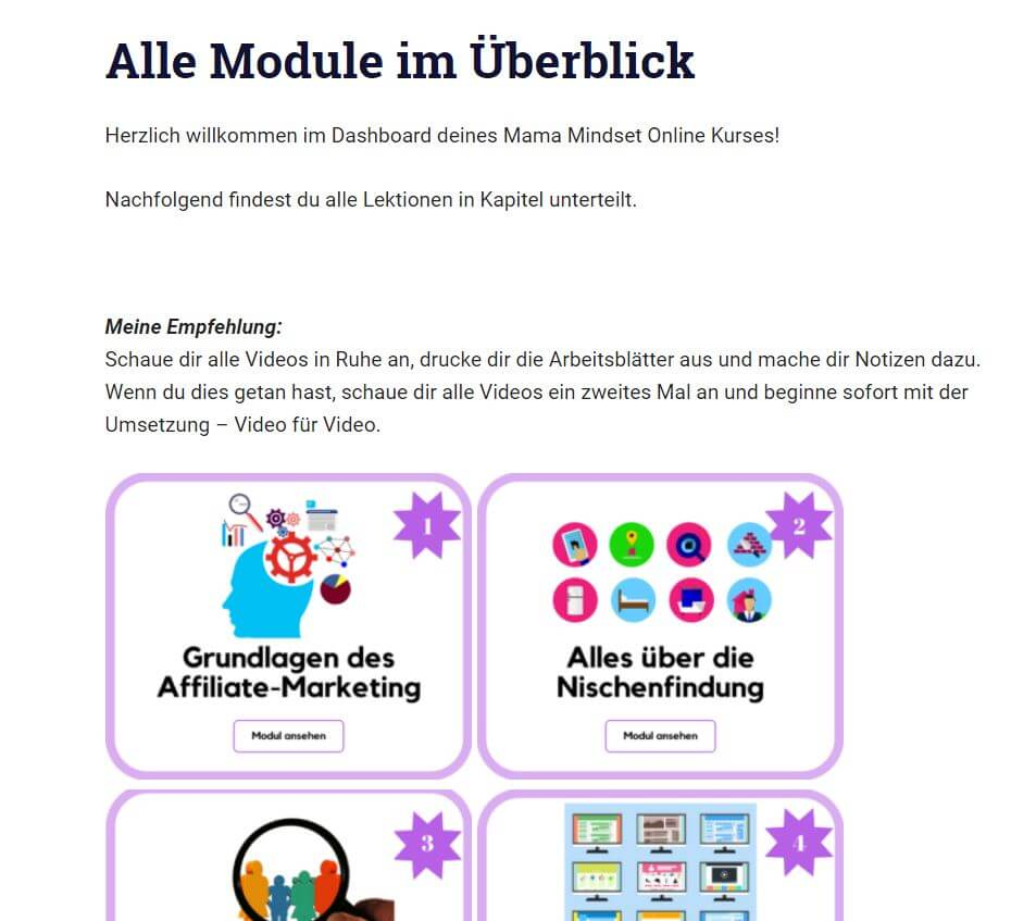 Einblick in den Affiliate Hurricane