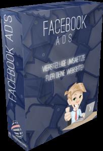 """Wir stellen dir unsere Erfahrungen zur """"Facebook Ads Anleitung"""" von Nico Lampe in diesem Artikel vor. Hier siehst du ein MockUp zum Kurs """"Facebook Ads Anleitung"""" von Nico Lampe."""