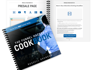 The Funnel Hacker´s CookBook von Russel Brunson