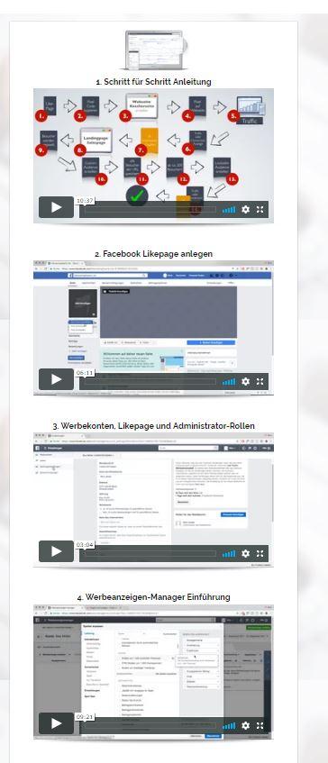 """Wir stellen dir unsere Erfahrungen zur """"Facebook Ads Anleitung"""" von Nico Lampe in diesem Artikel vor. Hier siehst du die Screenshot zum Kurs """"Facebook Ads Anleitung"""" von Nico Lampe."""