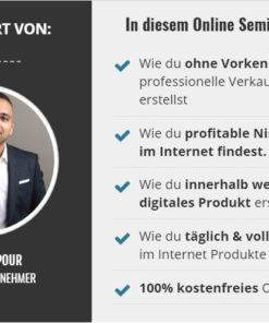 Screenshot Said Shiripour kostenloses Webinar Traffic