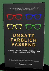 Buch Sebastian Fend - Umsatz farblich passend