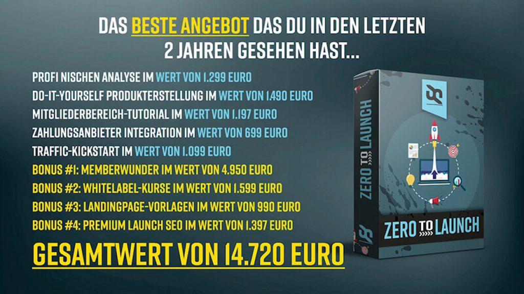 Zero to Launch von Said Shiripour - Launch-Angebot