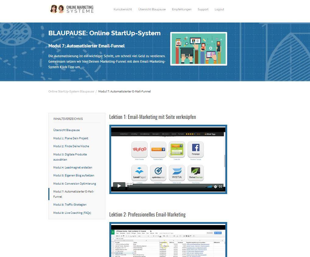 """Im Test: Stevka Scheel – """"Online StartUp-System – Blaupause"""" (UpSell ..."""