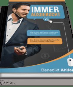 Cover Immer ausgebucht von Benedikt Ahlfeld