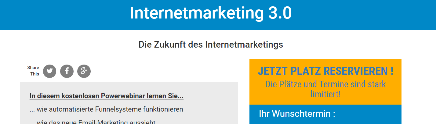 Marcel Schlee Internetmarketing 3.0