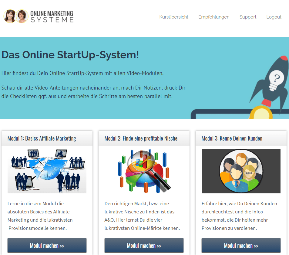 Online Startup System von Stevka Scheel - unsere Erfahrungen