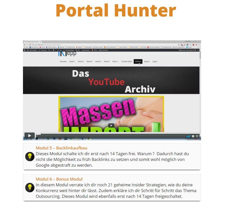 Portal Hunter im Test - unsere Erfahrungen