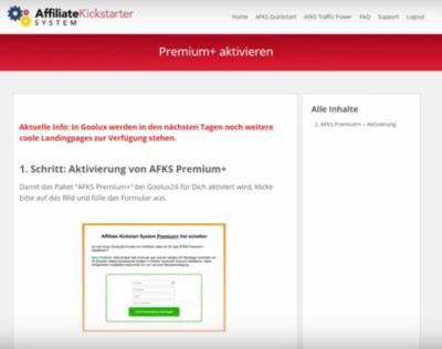 Erfahrungen mit dem Affiliate Kickstarter System von Torsten Jaeger