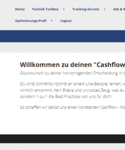 Startseite Cashflowmarketing / Cashflow-Ads