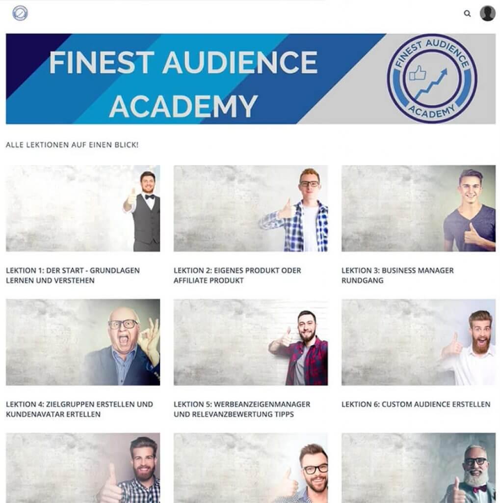 Finest Audience Academy - Dawid Przybylski - Erfahrungen