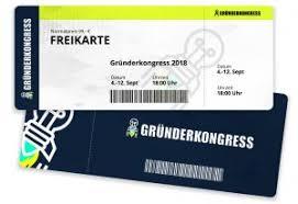 Gründerkongress 2018 - Freikarte kostenlos
