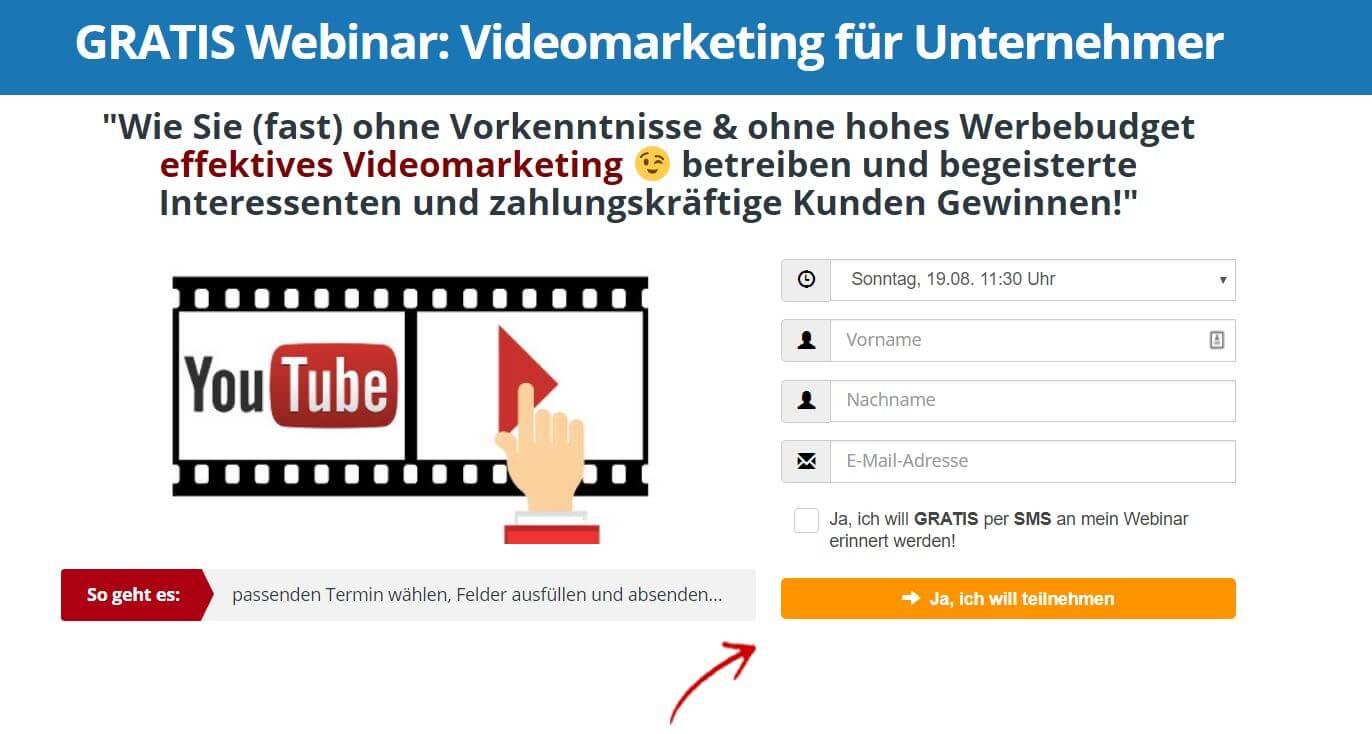 Webinar-YouTube für Unternehmer