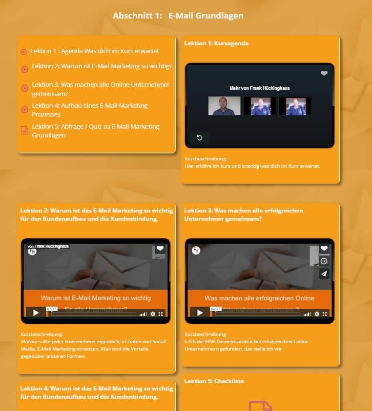zielgerichtetes eMail-Marketing mit Klick Tipp - Einblick ins Dashboard