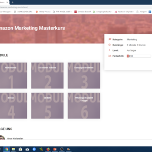 Onur Kizilarslan: Amazon Marketing Masterkurs