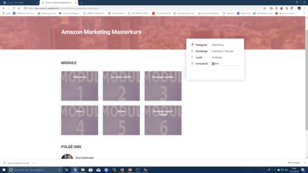 Onur Kizilarslan: Amazon Marketing Masterkurs