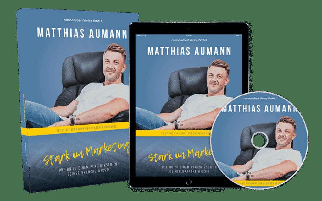 """Matthias Aumann: """"Stark im Marketing"""""""