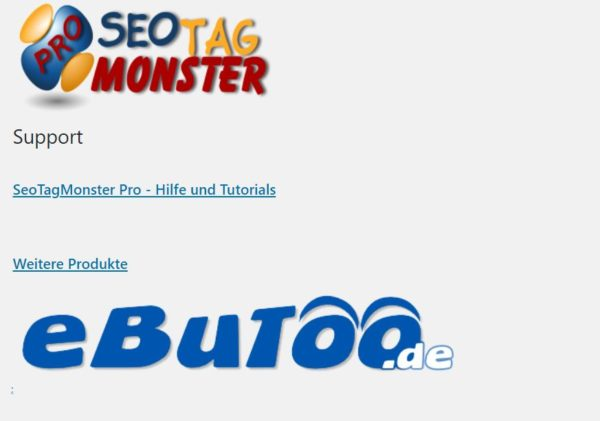 im Test: eBuToo: SeoTagMonster Pro