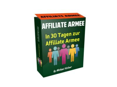 Michael Kotzur: Affiliate Armee