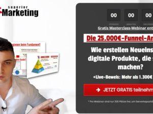 """[kostenloses Webinar] Nico Lampe: """"Die 25.000€-Funnel-Anatomie"""""""