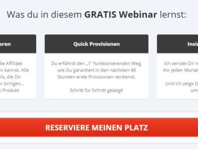 "[kostenloses Webinar] ""Die Affiliate Marketing Machine"" von Torsten Jaeger"