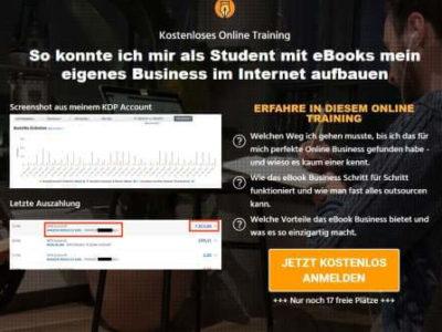 kostenloses Webinar Alexander Reinhardt zum eBook-Business