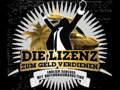 Die Lizenz zum Geld verdienen- Ralf Schmitz - Erfahrungen. Logo.