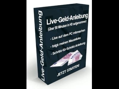 Live-Geld-Anleitung Erfahrungen MockUp.