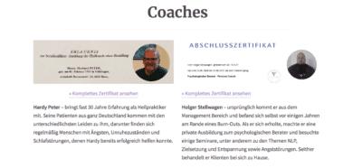 die Autoren Hardy Peter und Holger Stellwagen.