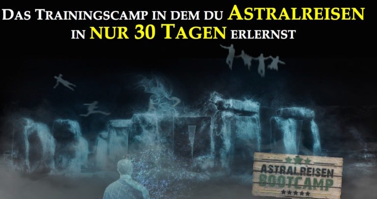 Astralreisen-Bootcamp: in 30 Tagen Astralreisen lernen.