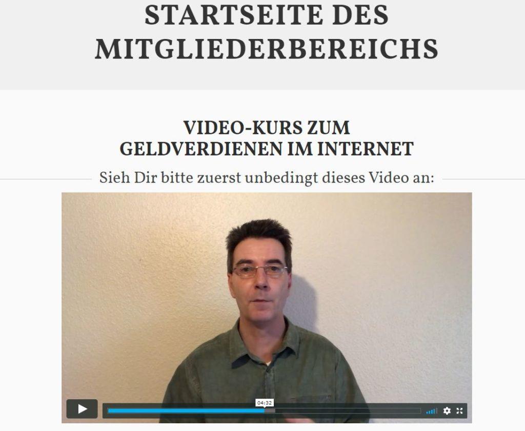 Einblick Ervolkskurs von Rainer Hornberger.