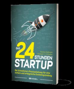 24 Stunden Startup von Thomas Klußmann - Cover des Buches.