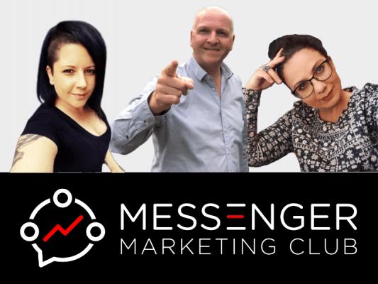 Messenger Marketing Club - Teambild.