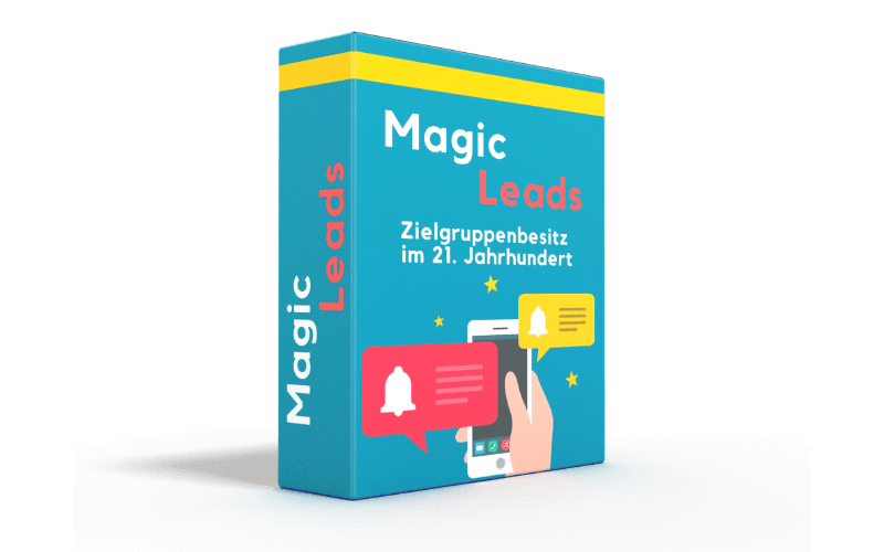 Magic-Leads von Jonas Klaholz - Coverbild.