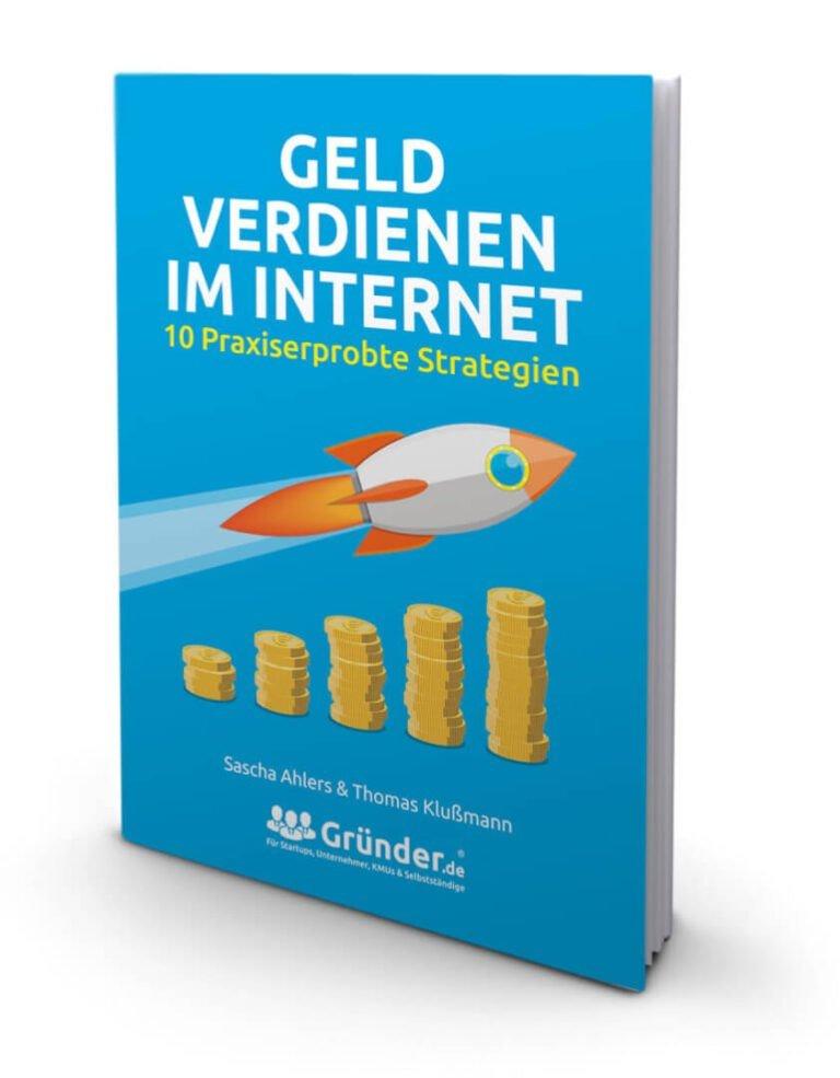 Thomas Klußmann: Buch: Geld verdienen im Internet. Foto des Buches.