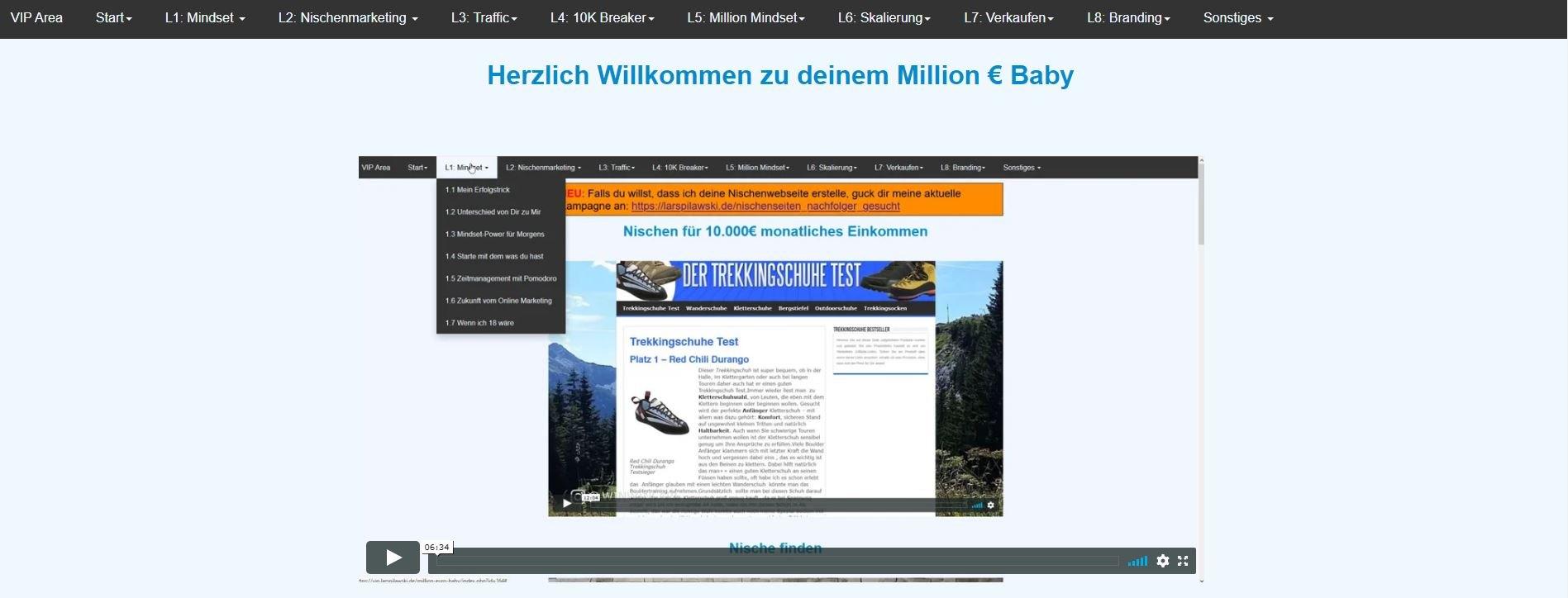 Million Euro Baby von Lars Pilawski