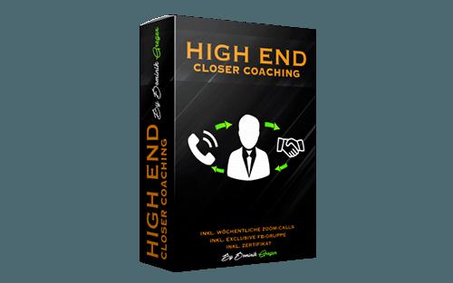 High End Closer Coaching.