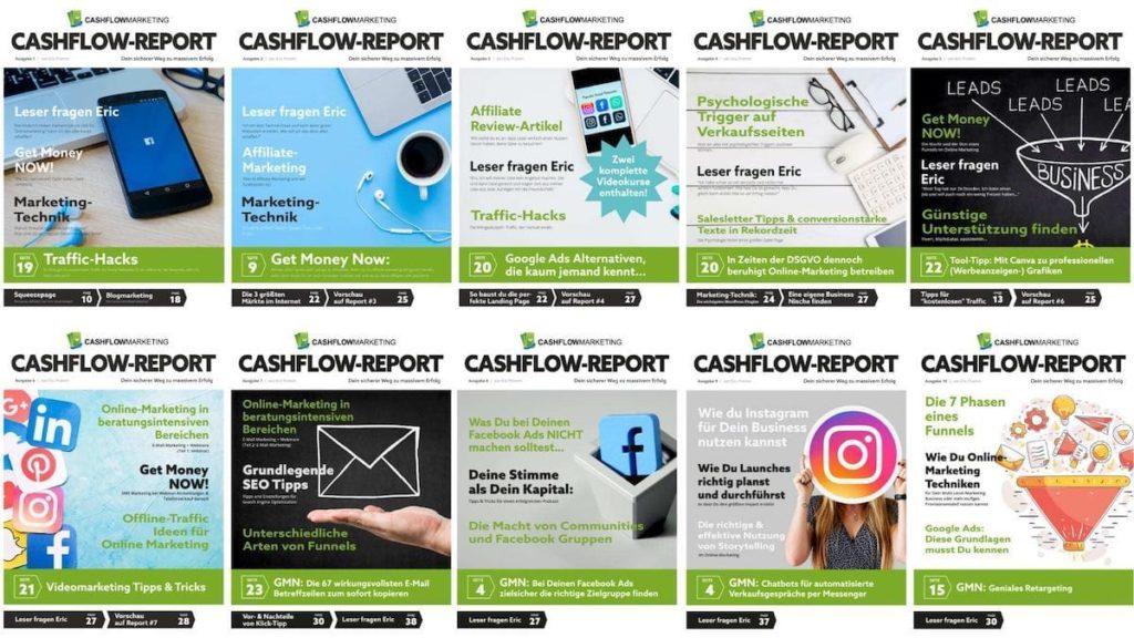 CashFlow-Report - die Übersicht