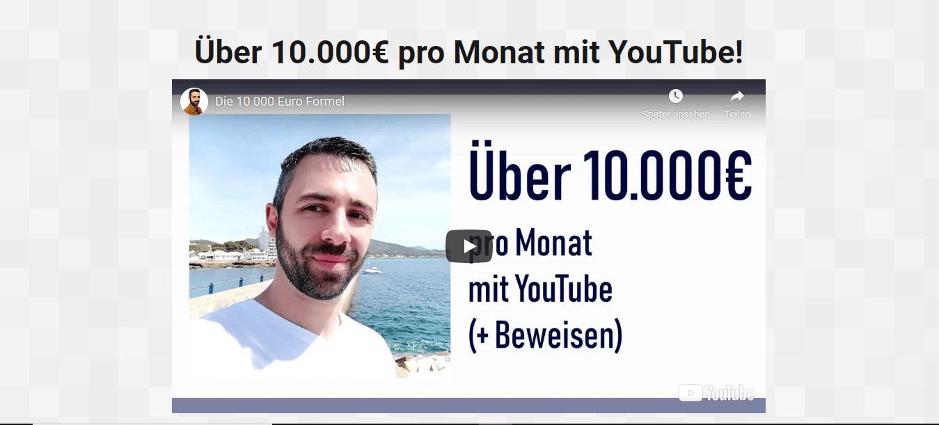Die 10.000 € Formel von Eric Hüther.