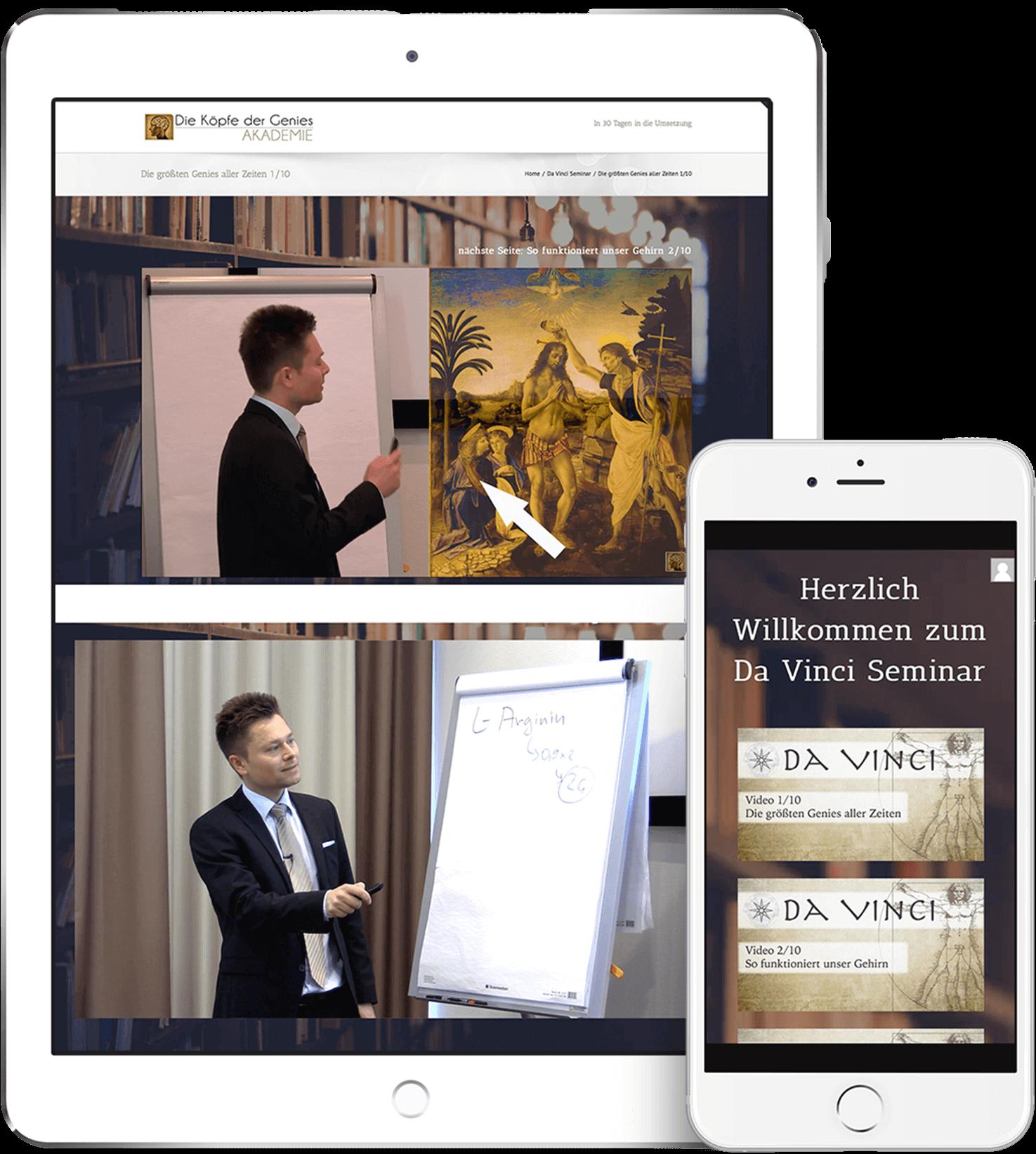 Maxim Mankevich - Da Vinci Seminar.