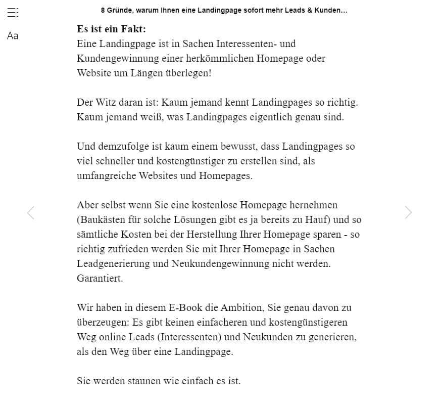 Dejan Novakovic: Leseprobe zum eBook.