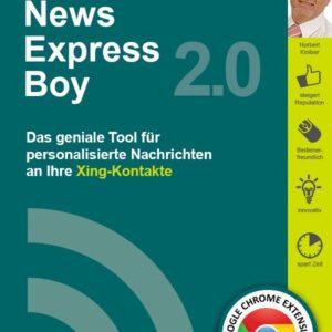 News-Express-Boy von Norbert Kloiber.